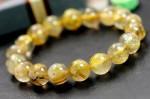 ゴールドルチル 天然石ブレスレット