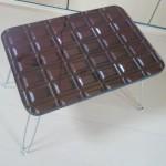 チョコレート 折りたたみミニテーブル