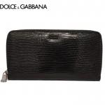 【送料無料】DOLCE&GABBANA ラウンドファスナー長財布 BP1435 A1095 80999