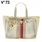 V73(ヴィー・セッタンタトレ) BANDES RAFIA BAG 147311 WHITE