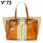 V73(ヴィー・セッタンタトレ) BANDES RAFIA BAG 147311 ORANGE
