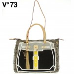 【送料無料】V73(ヴィー・セッタンタトレ) K-PATCH BAG 147306 WHT-YELLOW