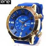 ENE WATCH ビッグフェイス腕時計 REGATTA CUP COLLECTION 11474