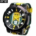 ENE WATCH ビッグフェイス腕時計 105 CUP COLLECTION 650000106