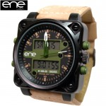 ENE WATCH ビッグフェイス腕時計 DRIVER2G COLLECTION 655008108
