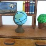ミニチュアインテリア 地球儀
