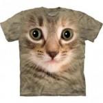 ビッグフェイス プリントTシャツ Kitten(ネコ)
