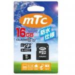 mtc microSDHCカード 16GB class10