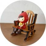 ミニチュア家具 ロッキンチェア