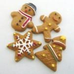 スイーツデコパーツ クリスマスクッキー 4種60個セット