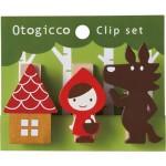 otogicco 赤ずきんちゃん クリップセット