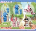 ぼのぼの フィギュアマスコット 5種コンプリートセット