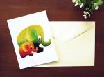 エレファントポストカード