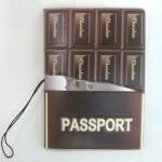 板チョコ パスポートケース