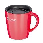 陶器調真空断熱マグカップ(330ml)3色