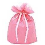ササガワ タカ印 50-3562 巾着袋 ピンク 大 50P