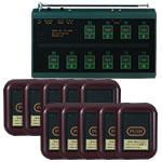 コードレスチャイムCA-3000コンパクトレザータイプ10台セット