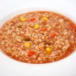 野菜がたっぷり!玄米トマトリゾット