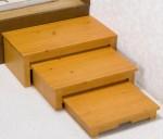 スライド式玄関台(3段) 全2色