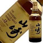 【5,599円】サントリー シングルモルトウイスキー山崎12年 700ml 箱無